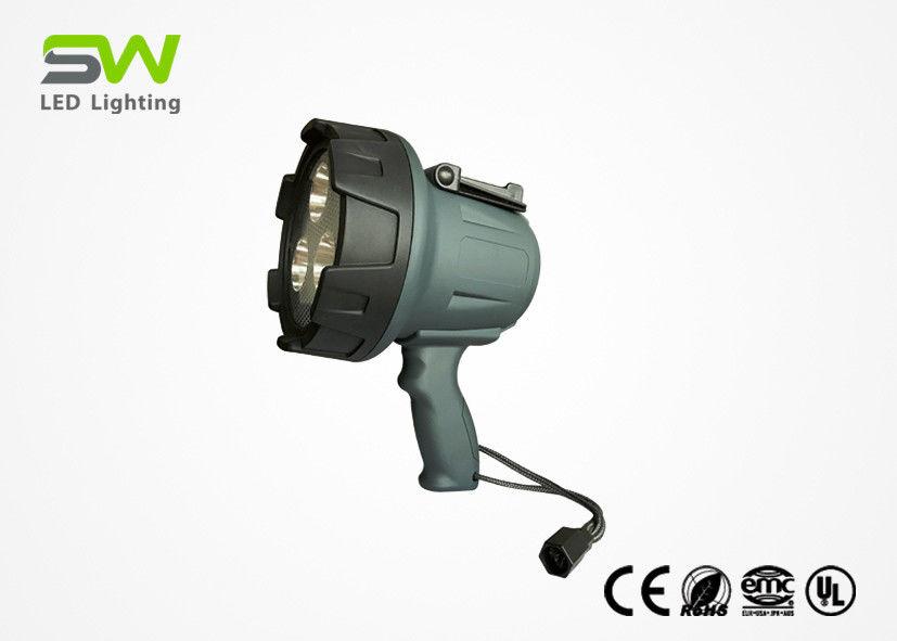 Waterproof Rechargeable Led Spotlight 1500 Lumen Handheld Spot Work Light