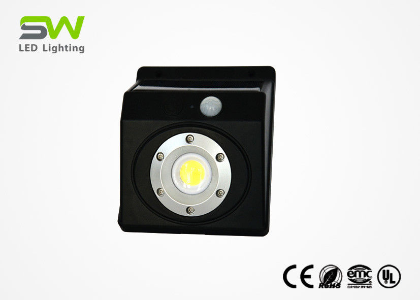 3W Powerful Led Sensor Light , Safety Solar Security Light With Infrared Sensor