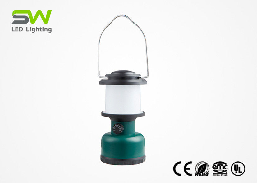 Portable Outdoor LED Camping Lantern Rechargeable Battery Or Dry Battery Powered
