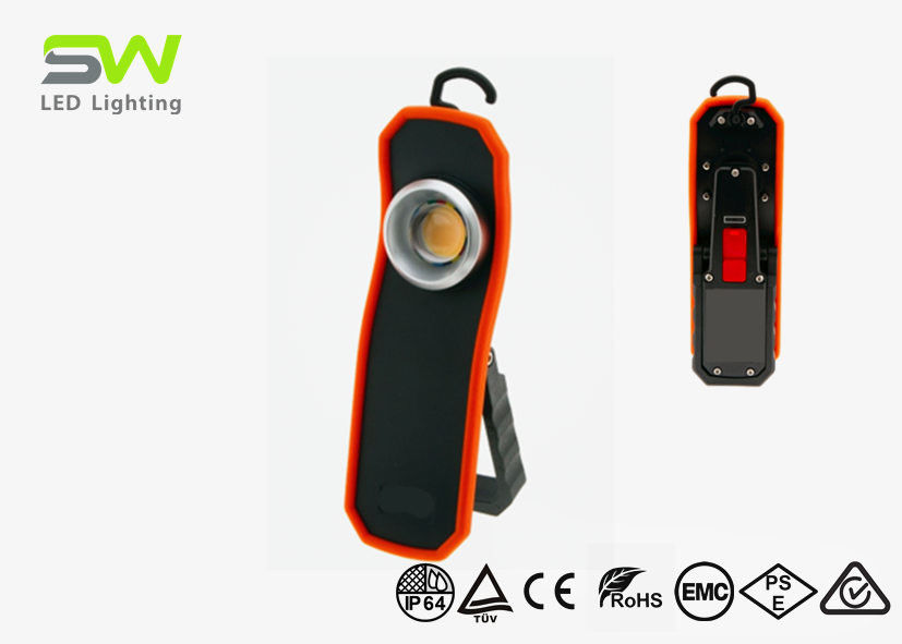 15W COB Rechargeable Led Work Light With Magnetic Base CRI 95+ Waterproof