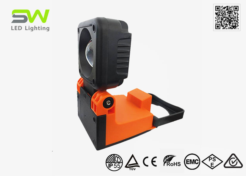 COB Heavy Duty Rechargeable LED Work Light With Handle And Magnet