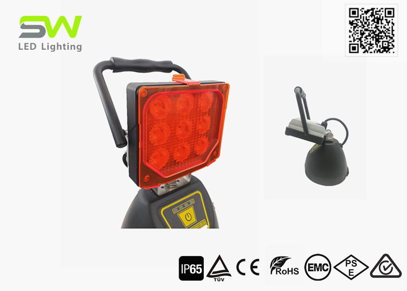 DC24V Rechargeable Led Work Light With Detachable Red Light Filter