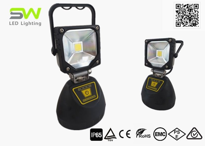 With Power Bank and Magnets Aluminium Material LED Portable Flood Lights