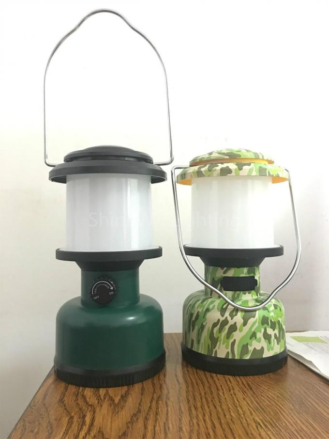 Handle Led Camping Lantern With Rechargeable Lithium Battery Beam Dimmable
