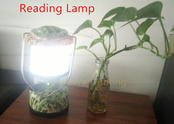 Customized Color Led Camping Lantern Waterproof With Dimmer And Power Bank