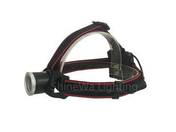 554 Lumen Powerful Headlamp Flashlight , Battery Powered Focusing Headlight