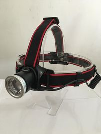 Zoomable High Lumen Head Torch / Durable Brightest Led Headlamp Flashlight
