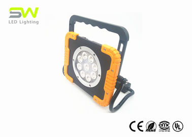 IP65 9x3W Portable LED Flood Lights With Handle And Rotatable Magnet Stand
