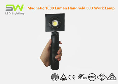 China Slim Portable Rechargeable Led Work Light , Magnetic Work Light Anti - Skip Handle factory