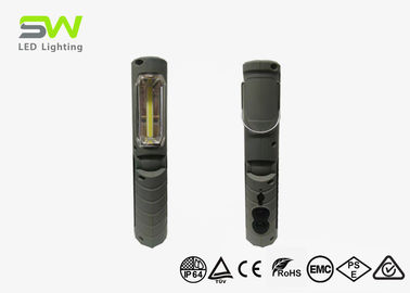 2 W Handheld Work Light With A LED Torch , Foldable Magnetic Inspection Lamp