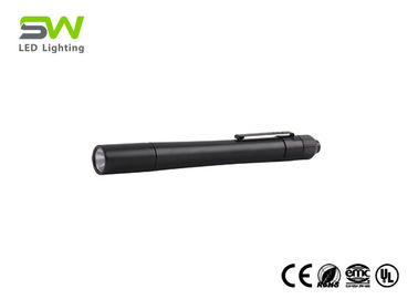 China 250 Lumen IP64 Cree XP G2 Led Penlight Medical With Clip , Doctor Pen Light factory