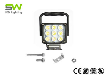China 27W LED Light Bar Led Light Pods Flood Work Light 1800 Lumen With Car Charger factory