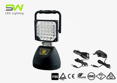 China SMD Cordless Portable Battery Led Flood Lights Site Tripod Light Magnetic Stand IP 65 factory