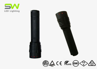 China AA Battery Powered LED Flashlight IP64 Focusing Rechargeable Led Torch Light factory